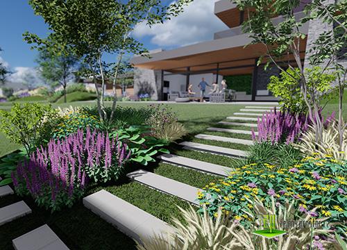 Zahrada v Bystřici